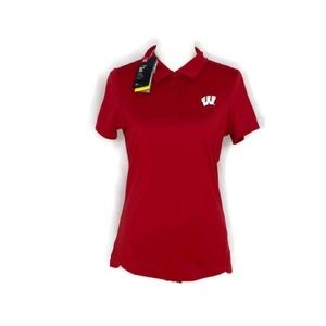 ~New Women's med fitted under armor golf T-shirt